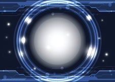 Interfejs nowożytna technologia Fotografia Stock
