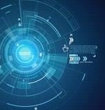 Interfejs technologia przyszłość użytkownika doświadczenie ilustracja wektor
