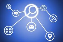 Interfejs użytkownika Zdjęcie Stock
