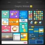 Interfejsu Użytkownika projekt Zdjęcie Stock
