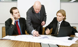 Interfering boss Stock Photos