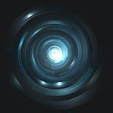 Intergalactic gates. Futuristic vector background. Stock Photos