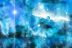 Intergalactic space. Abstract space background Royalty Free Stock Photos