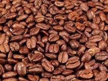 Interi chicchi di caffè Fotografia Stock Libera da Diritti