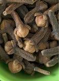 Interi chiodi di garofano Fotografia Stock
