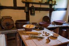 Interioer formado da cozinha Foto de Stock Royalty Free