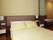 Interioir Auslegung - Schlafzimmer stockbilder