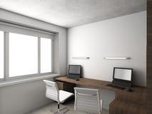 Interioir do gabinete moderno Fotos de Stock