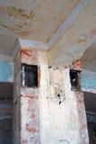 Interion constructivo abandonado Imagen de archivo