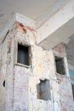 Interion constructivo abandonado Imagen de archivo libre de regalías