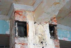Interion constructivo abandonado Foto de archivo