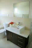 Interior à moda do banheiro Foto de Stock Royalty Free