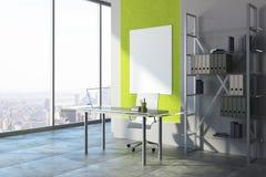 Interior à moda do escritório Imagem de Stock Royalty Free