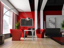 Interior 042 Imagen de archivo libre de regalías