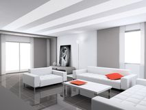 Interior. Design of an interior. Modern style Stock Images
