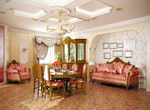 Interior royalty free illustration