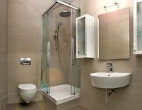 Interior 2 do banheiro Foto de Stock Royalty Free