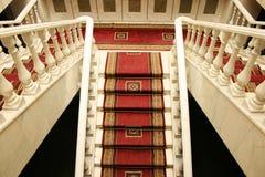 Interior. Of luxurious house, horizontal picture Stock Photos