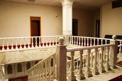 Interior. Of luxurious house, horizontal picture Royalty Free Stock Photography