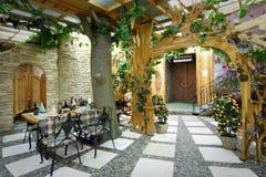 Interior 3 do restaurante Fotografia de Stock Royalty Free