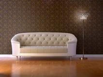 interior 3d Royaltyfri Bild