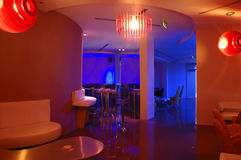 Interior 6 do hotel Fotografia de Stock