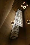 Interior. Detail shot of interior lights and alabaster window Stock Photo