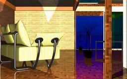 Interior_7 vektor illustrationer