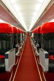 Interior A320-200 Fotografia de Stock