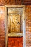 Interior A Rustic Bath Stock Image