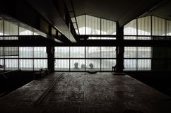 Interior of Abandon Architecture Stock Photography