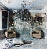 Interior abandonado imagens de stock royalty free