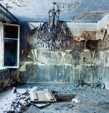 Interior abandonado Fotografía de archivo libre de regalías