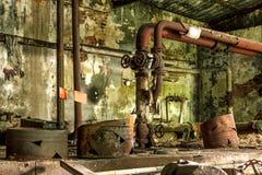 Interior abandonado Fotografía de archivo