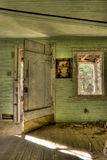 Interior abandonado Imagen de archivo libre de regalías
