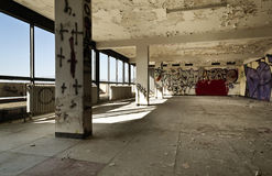Interior, abandoned building Stock Photography