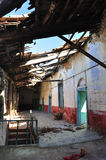 Interior of an abandoned house Royalty Free Stock Photo