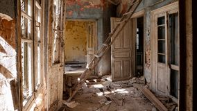 Abandoned Villa - Greece Royalty Free Stock Image