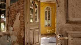 Abandoned Villa - Greece Stock Image