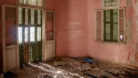 Abandoned Villa - Greece Stock Images