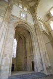 Interior abbey cluny Stock Photo