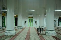 Interior of The Abidin Mosque in Kuala Terengganu, Malaysia Royalty Free Stock Photography