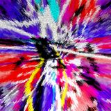 Abstract. Art. Painting. Graphic. Abstraction. Picture stock illustration