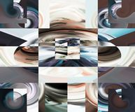 Abstract. Art. Painting. Graphic. Abstraction. Picture Stock Photo