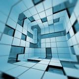 Interior abstracto stock de ilustración