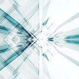 Interior abstracto de la tecnología representación 3d libre illustration