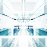 Interior abstracto de la tecnología representación 3d ilustración del vector