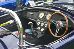 Interior of AC Cobra. Royalty Free Stock Photos