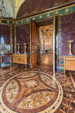 Interior of Agate Rooms in building Cold Bath in Tsarskoye Selo Stock Photography