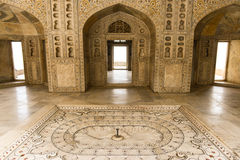 Agra Red Fort in India Stock Photography